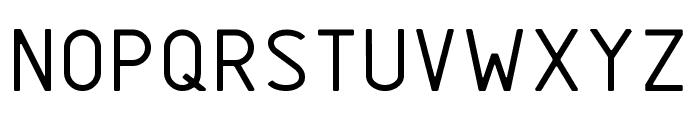 GOSTRUS type B Font UPPERCASE