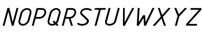 GOSTRUS type sB Font UPPERCASE