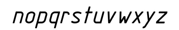 GOSTRUS type sB Font LOWERCASE