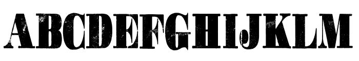 GOTCHA PERSONAL USE Font UPPERCASE