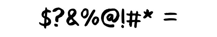Go Baaa Handwritten Comic Regular Font OTHER CHARS