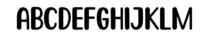 Go Frog Font UPPERCASE