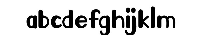 Go Frog Font LOWERCASE