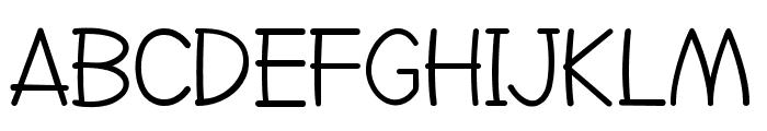 Go Jackie Font UPPERCASE