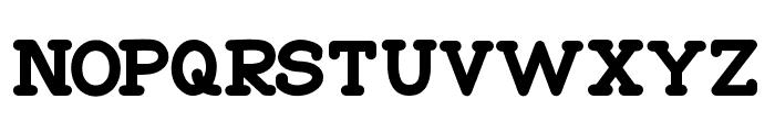 Go Peanut Font UPPERCASE
