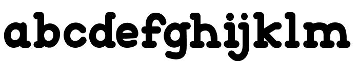 Go Peanut Font LOWERCASE