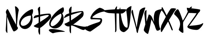 Goatskin Brush Personal Use Font UPPERCASE