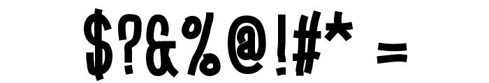 Gobbledegook Font OTHER CHARS