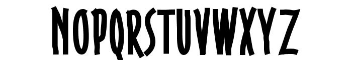 Gobbledegook Font UPPERCASE
