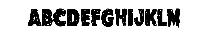 Goblin Creek Condensed Font UPPERCASE