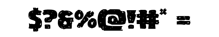 Goblin Creek Expanded Font OTHER CHARS