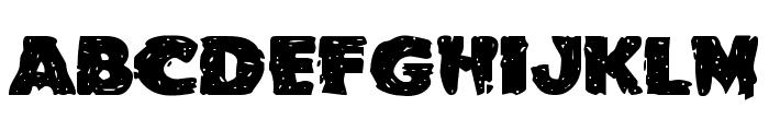 Goblin Creek Expanded Font UPPERCASE