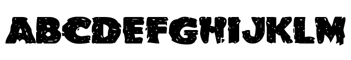 Goblin Creek Expanded Font LOWERCASE