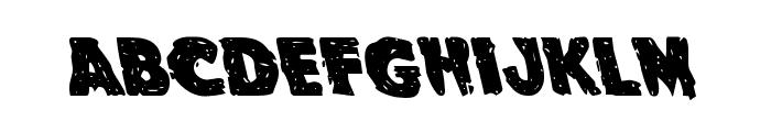 Goblin Creek Leftalic Font LOWERCASE