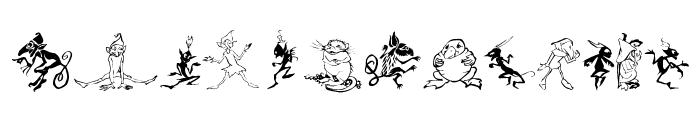 Goblins Font LOWERCASE