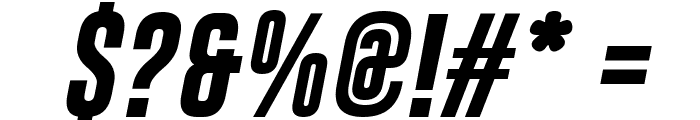 Gobold Bold Italic Italic Font OTHER CHARS