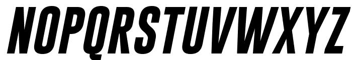 Gobold Bold Italic Italic Font UPPERCASE