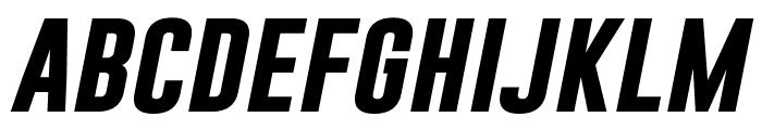 Gobold Bold Italic Italic Font LOWERCASE