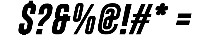 Gobold Bold Italic Font OTHER CHARS