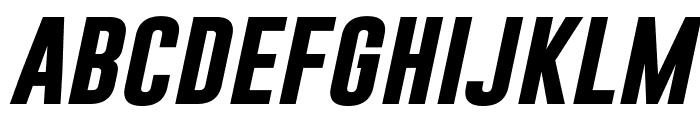 Gobold Bold Italic Font LOWERCASE