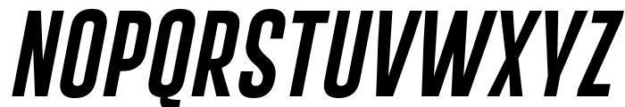 Gobold Extra1 Italic Italic Font UPPERCASE