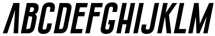 Gobold Extra1 Italic Italic Font LOWERCASE