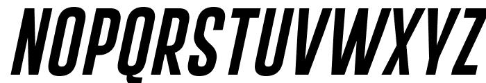 Gobold Extra1 Italic Font UPPERCASE