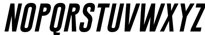 Gobold Extra1 Italic Font LOWERCASE