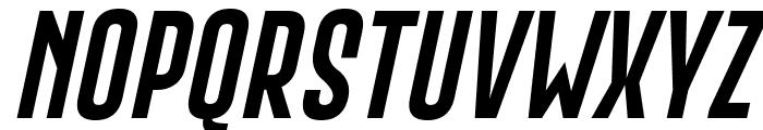 Gobold Extra2 Italic Font UPPERCASE