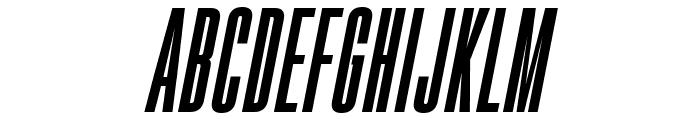 Gobold High Bold Italic Italic Font UPPERCASE