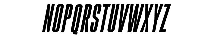 Gobold High Bold Italic Italic Font LOWERCASE