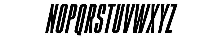 Gobold High Bold Italic Font LOWERCASE