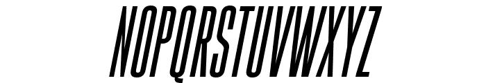Gobold High Italic Italic Font UPPERCASE
