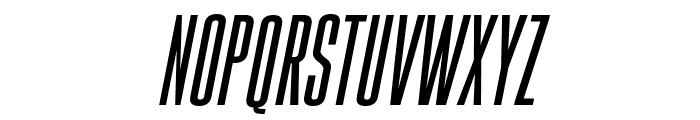 Gobold High Italic Italic Font LOWERCASE
