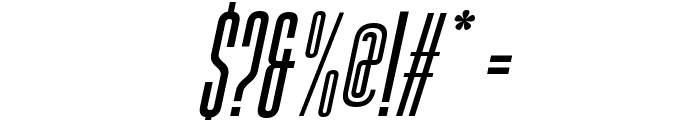 Gobold High Italic Font OTHER CHARS