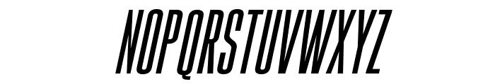 Gobold High Italic Font LOWERCASE