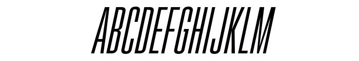 Gobold High Thin Italic Font LOWERCASE