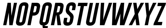 Gobold Italic Italic Font UPPERCASE