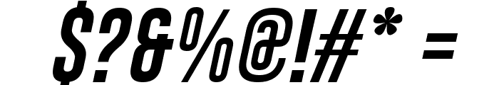 Gobold Italic Font OTHER CHARS