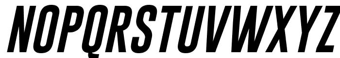 Gobold Italic Font UPPERCASE
