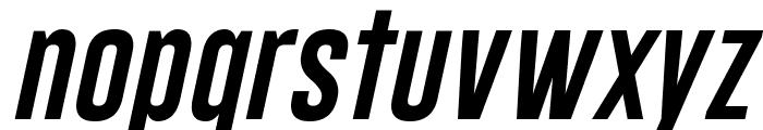 Gobold Lowplus Italic Font LOWERCASE