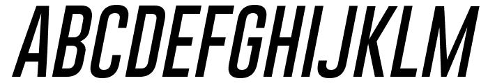 Gobold Thin Italic Italic Font UPPERCASE