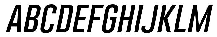 Gobold Thin Italic Italic Font LOWERCASE