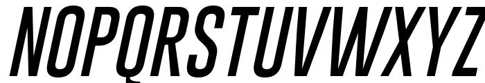 Gobold Thin Italic Font UPPERCASE