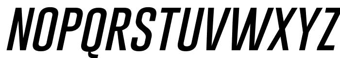 Gobold Thin Italic Font LOWERCASE