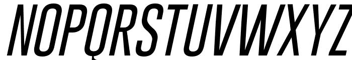 Gobold Thin Light Italic Font UPPERCASE