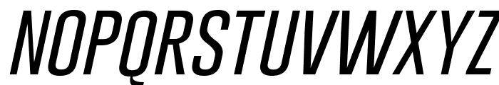 Gobold Thin Light Italic Font LOWERCASE