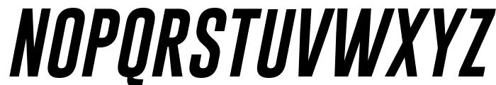 Gobold Uplow Italic Italic Font UPPERCASE