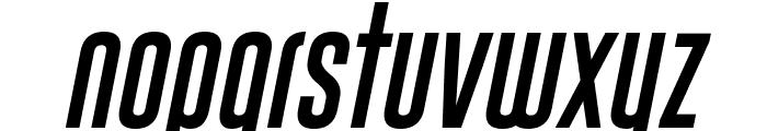 Gobold Uplow Italic Italic Font LOWERCASE