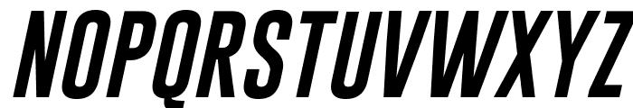 Gobold Uplow Italic Font UPPERCASE